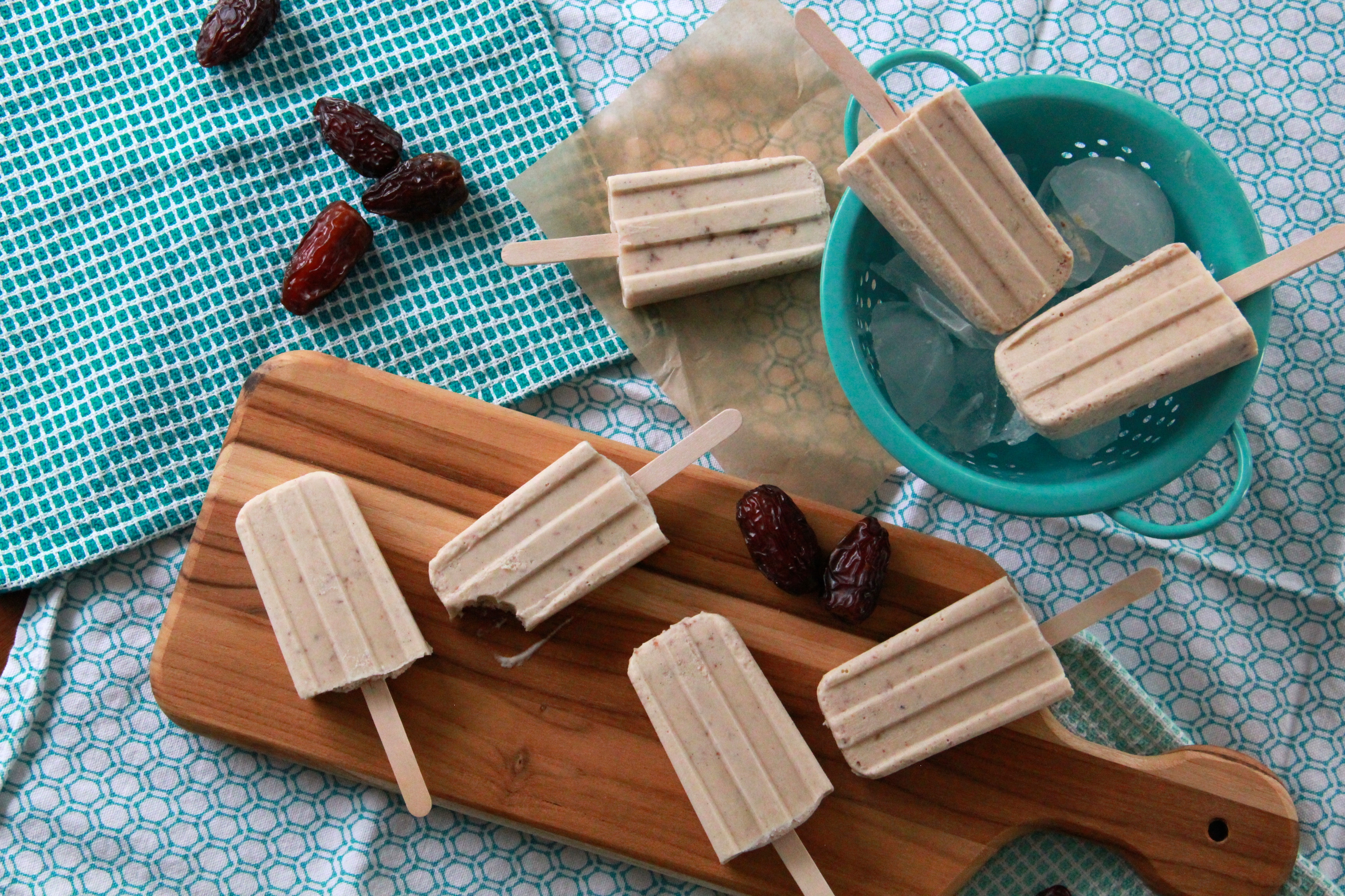 Date Shake Popsicles Recipe — Dishmaps