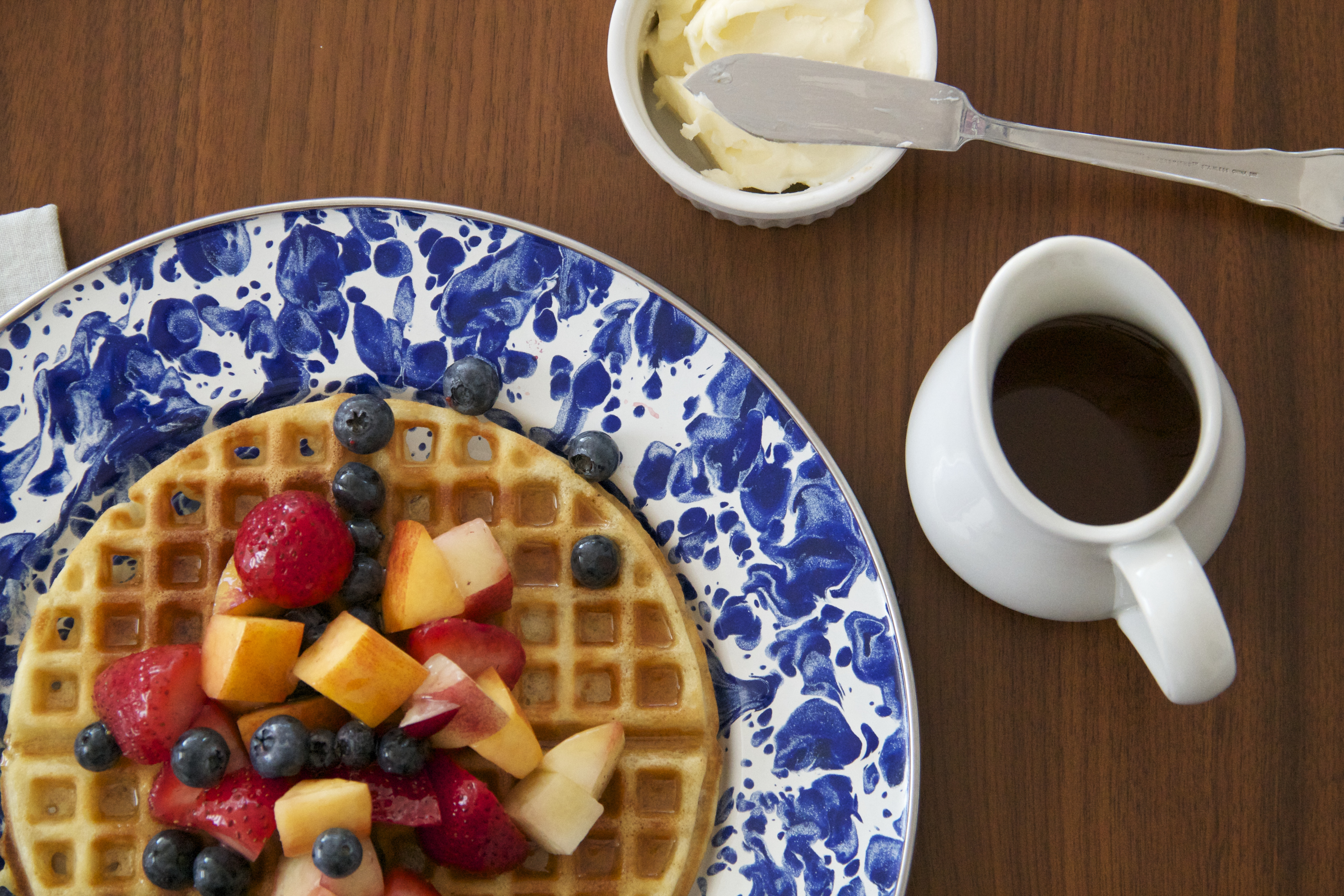 Aretha Frankenstein's Waffles of Insane Greatness » Dunk & Crumble